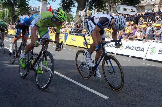 Peter Sagan and Marcel Kittel (CC licensed by trawets1 via Flickr)