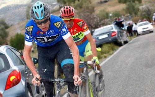 Contador and Froome (CC licensed via Flickr by Ciclismo Italia)