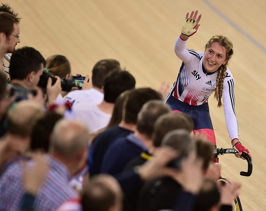 Laura Trott (copyright British Cycling)