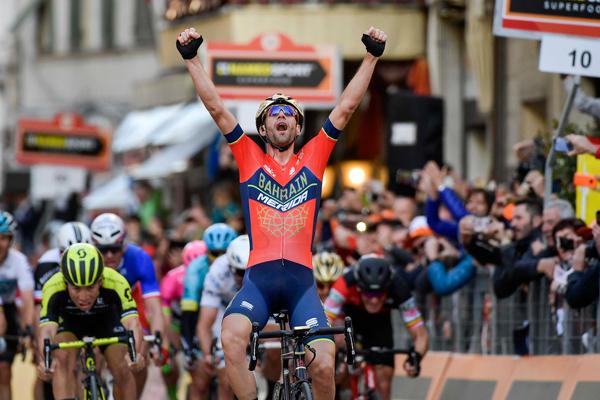 Vincenzo Nibali at Milan-Sanremo (LaPresse - Spada, Ferrari, Alpozzi)